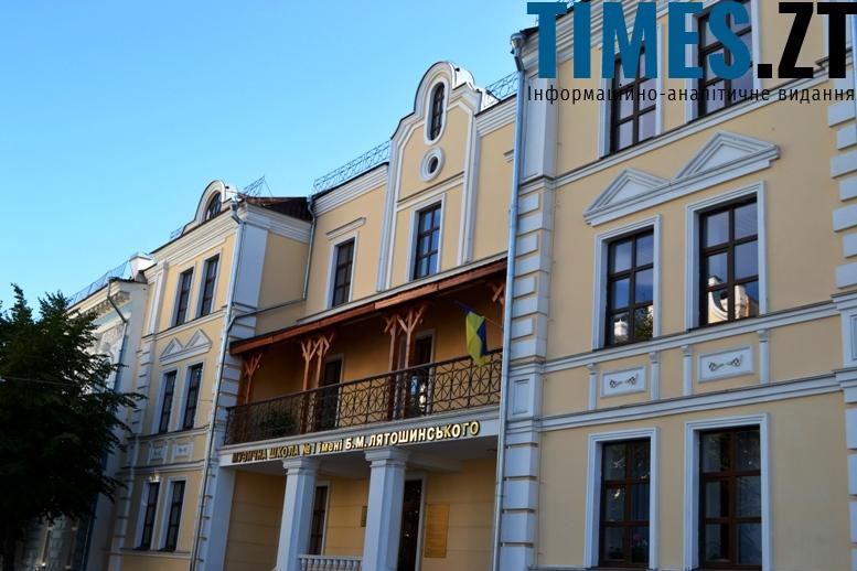 Музична школа №1 на Михайлівській. Приклад відносно вдалого сучасного проекту в історичному стилі (неоренесанс)