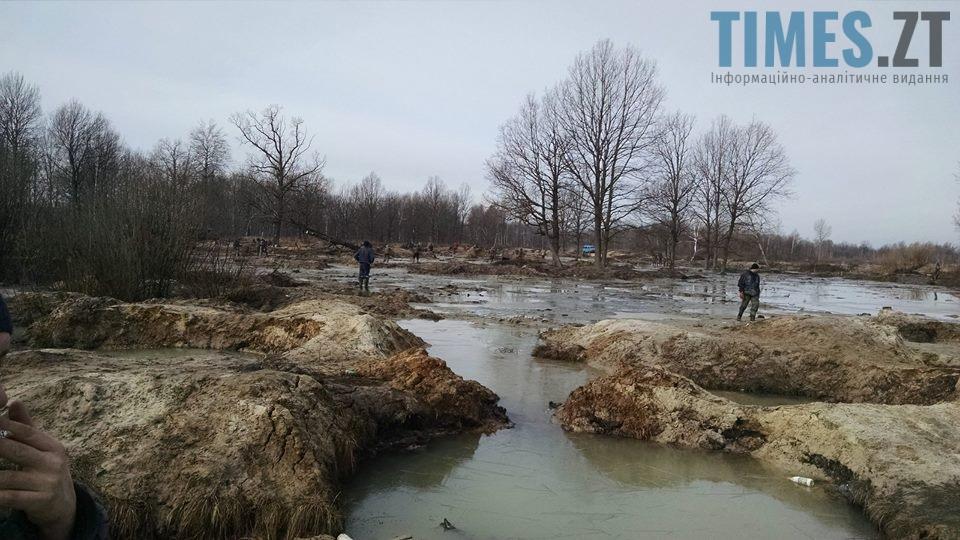 Обище Олевського району2 - Чи буде врегульовано питання видобутку бурштину на Житомирщині?