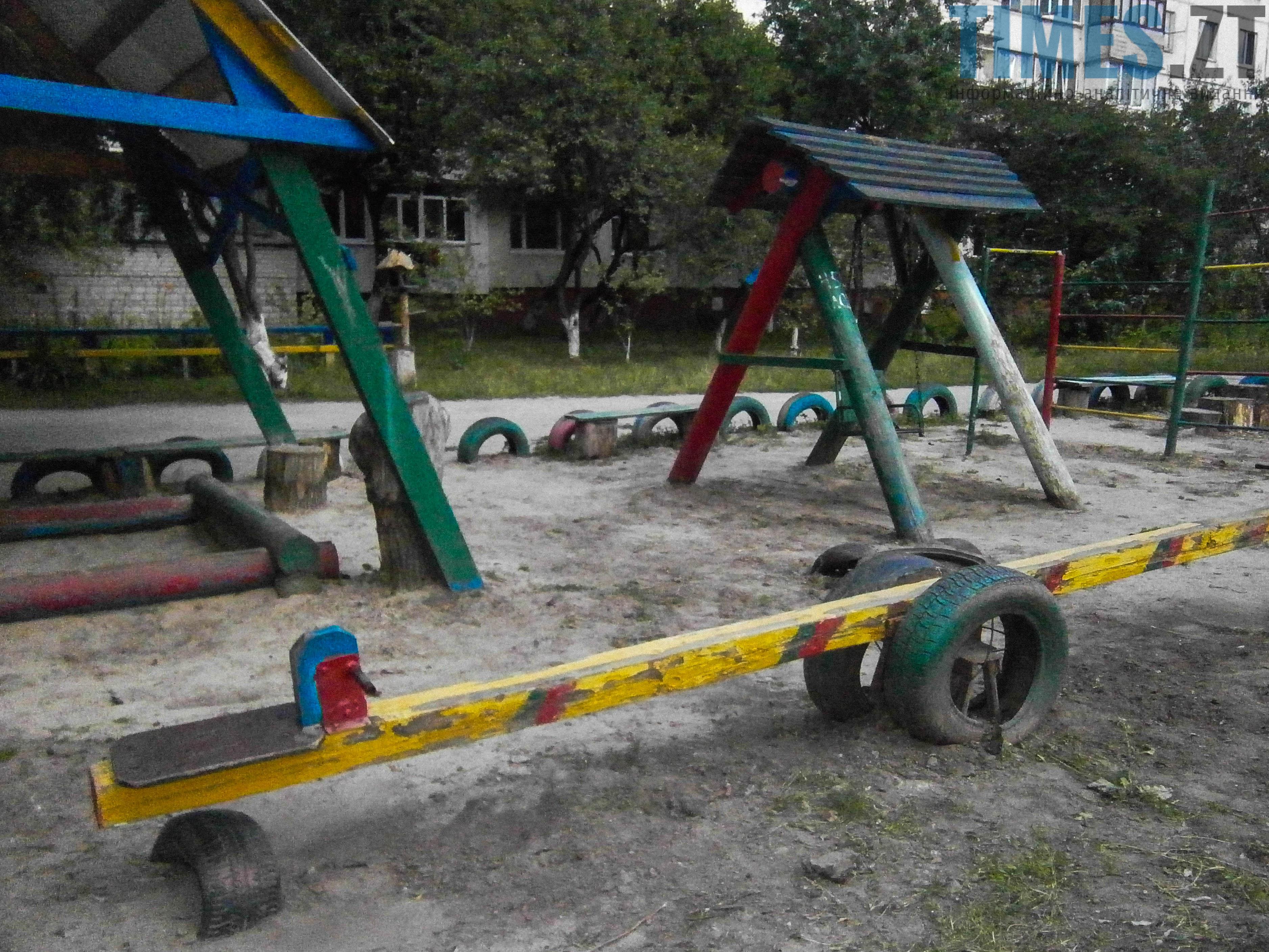 P7161627 - (Благо)устрій  житомирських дитячих майданчиків