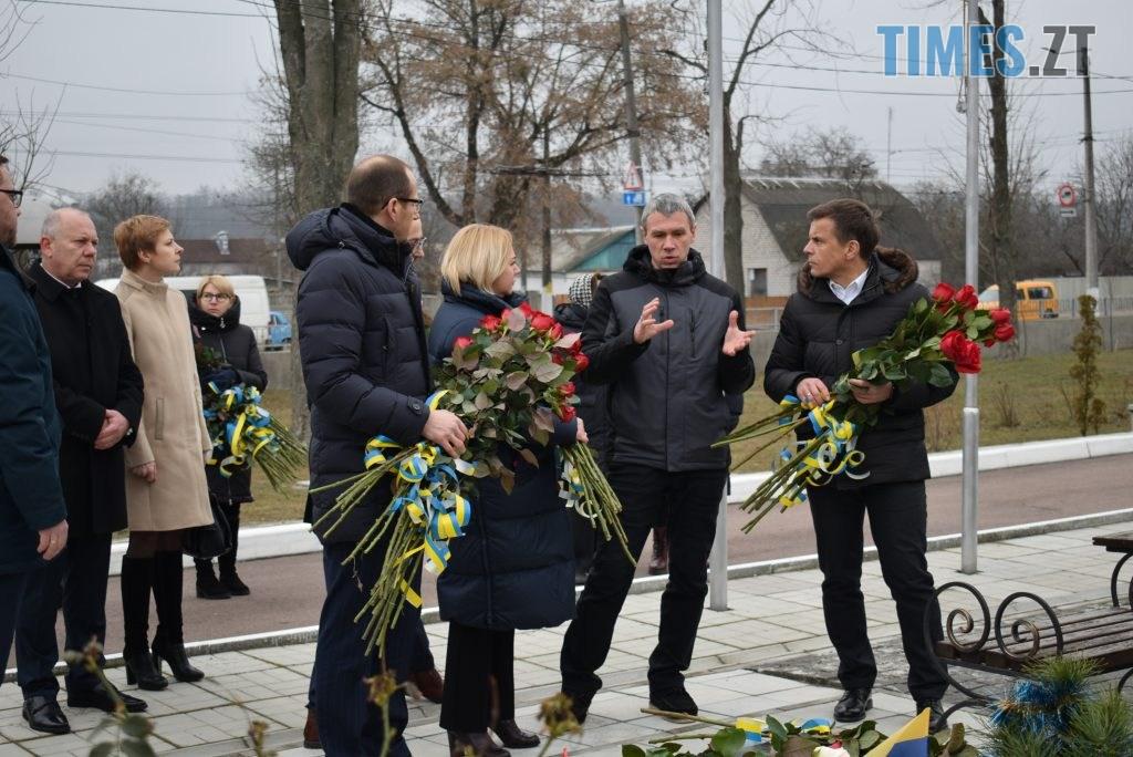 9057a328 5a4d 4967 90f7 265d8fdbf3f6 1024x684 - В Житомирі вшанували пам'ять полеглих у російсько-українській війні