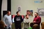 DSC 0004 5 150x100 - Житомирська команда «30+» з «Ліги сміху» зустрілася з учнями, щоб допомогти у виборі майбутньої професії (ФОТО)