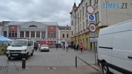 DSC 0008 260x146 - Сьогодні в Житомирі пішохідна Михайлівська перетворилась на паркувальну (ФОТО)