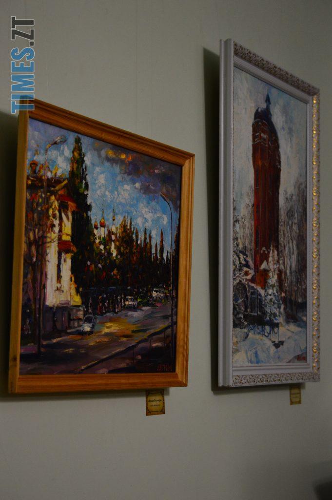 DSC 0009 8 e1573486864170 681x1024 - Вірменський художник презентував виставку «Ключі від міста», присвячену Житомиру (ФОТО)
