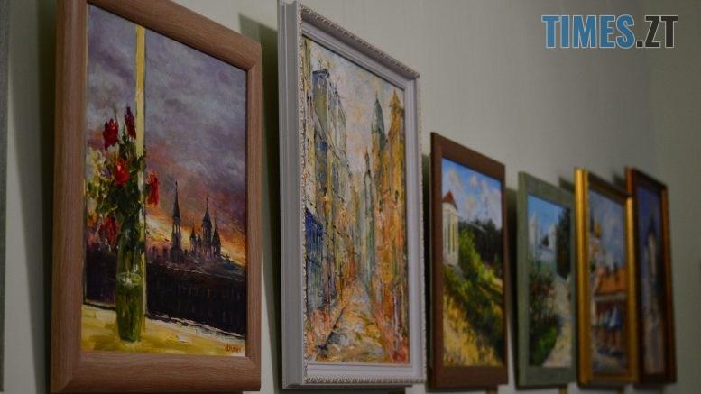 DSC 0011 6 777x437 - Вірменський художник презентував виставку «Ключі від міста», присвячену Житомиру (ФОТО)