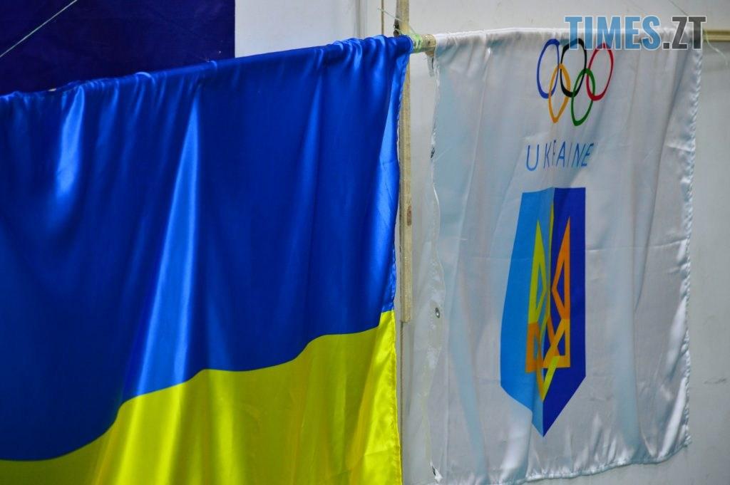 DSC 0020 9 1024x681 - Житомирський державний університет підняв прапори з нагоди відкриття зимової Олімпіади (ФОТО)