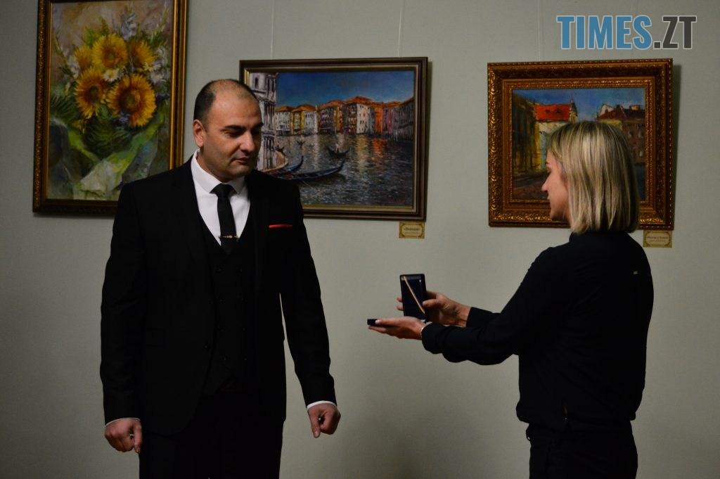 DSC 0026 8 1024x681 - Вірменський художник презентував виставку «Ключі від міста», присвячену Житомиру (ФОТО)