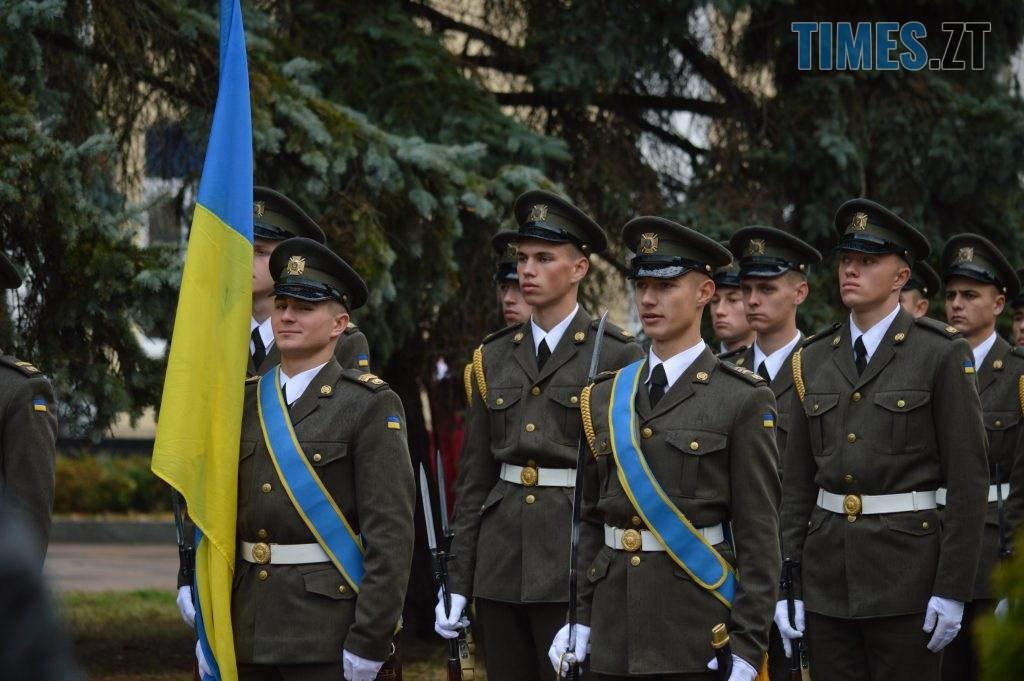 DSC 0060 3 1024x681 - Герої не вмирають! Житомиряни долучилися до відзначення Дня захисника України (ФОТО)