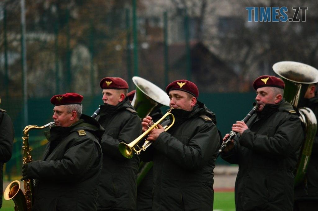 DSC 0061 6 1024x681 - Ветерани футболу провели майстер-клас для житомирських десантників (ФОТО)