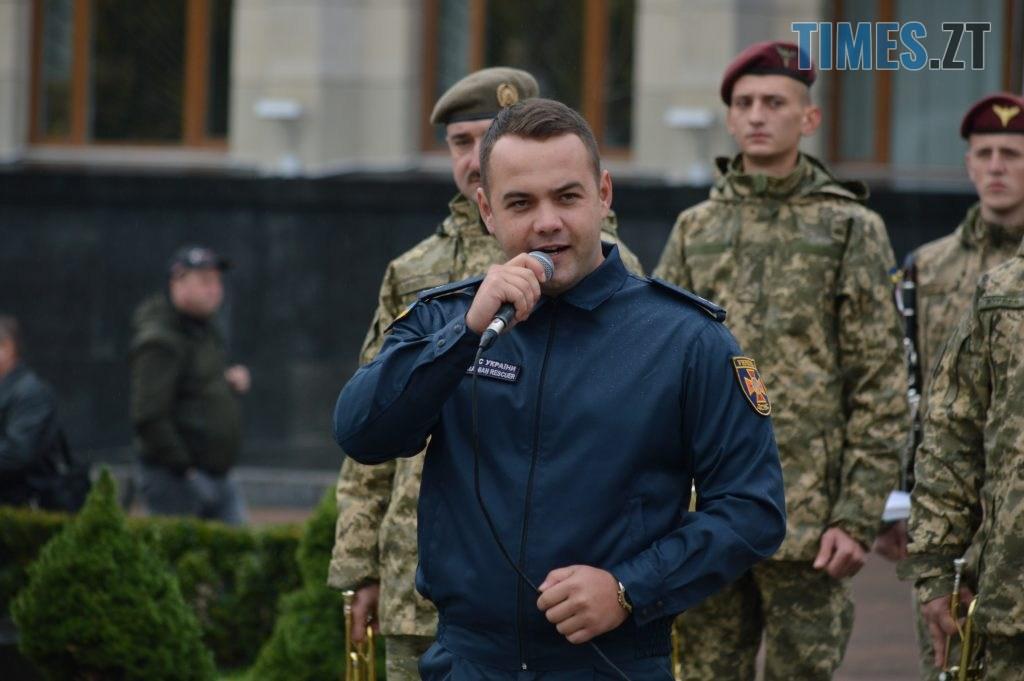 DSC 0081 2 1024x681 - Герої не вмирають! Житомиряни долучилися до відзначення Дня захисника України (ФОТО)