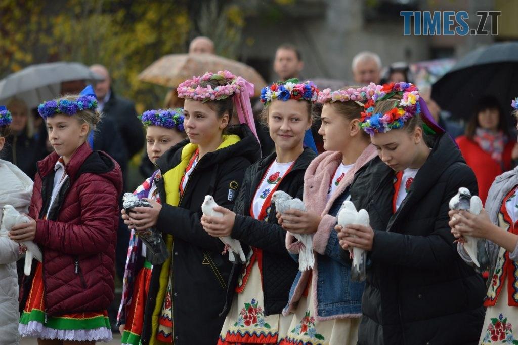 DSC 0097 1024x681 - Герої не вмирають! Житомиряни долучилися до відзначення Дня захисника України (ФОТО)