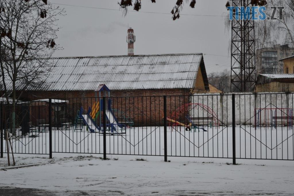 DSC 0105 4 1024x683 - У Житомир ненадовго зазирнула зима(ФОТО)