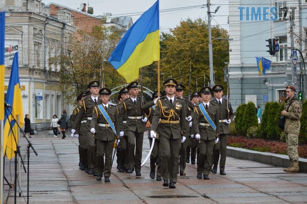 DSC 0129 2 1024x681 - Герої не вмирають! Житомиряни долучилися до відзначення Дня захисника України (ФОТО)
