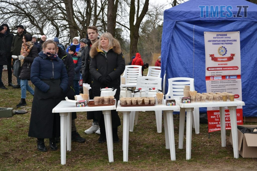 DSC 0159 4 1024x683 - Святкування Водохреща у Житомирі: купання, розваги та смачна їжа (ФОТО)
