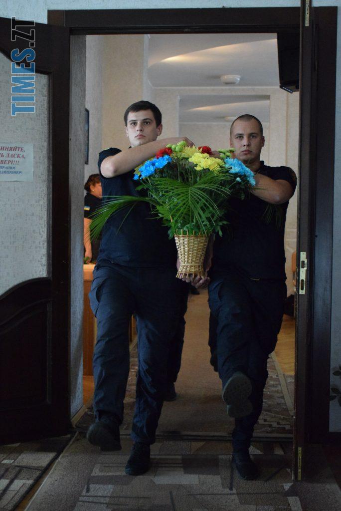 DSC 0186 e1568642127703 684x1024 - Полякова, Дзідзьо, Ротару та Psy вітали рятівників з професійним святом (ФОТО)