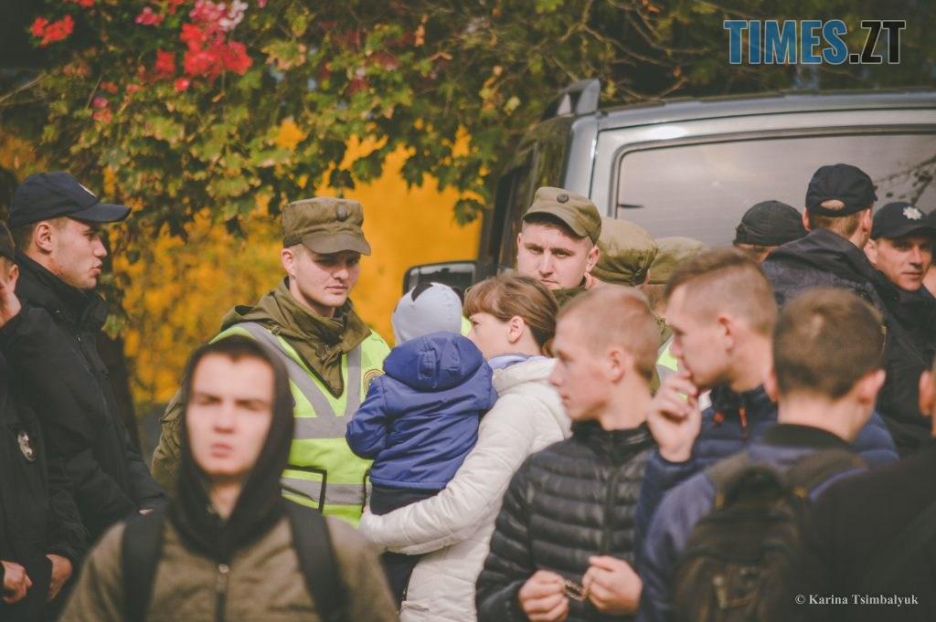 DSC 0219 1024x681 - Через президентів України та Білорусі житомиряни опинились в транспортно-пішохідному колапсі (ФОТО)