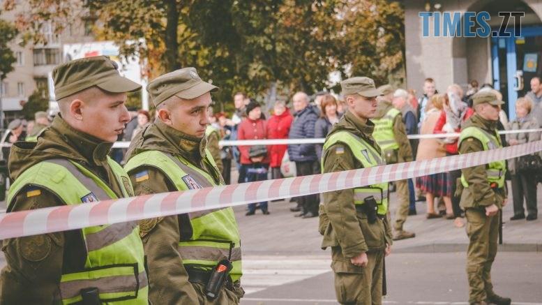 DSC 0246 777x437 - Через президентів України та Білорусі житомиряни опинились в транспортно-пішохідному колапсі (ФОТО)