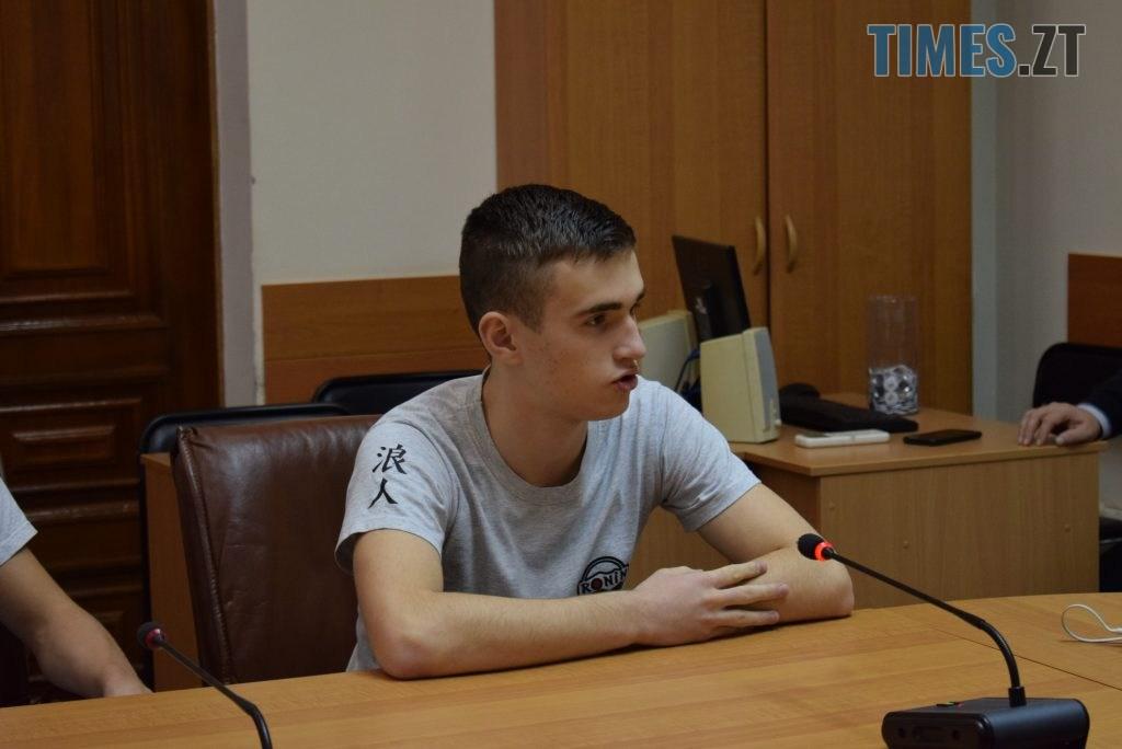 DSC 0257 1 1024x684 - У Житомирі вітали юних переможців Чемпіонату Європи та світу з карате (ФОТО)