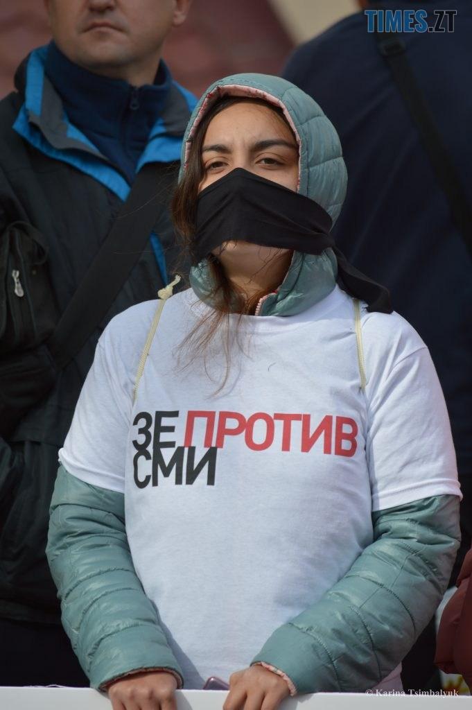 DSC 0269 2 681x1024 - Протести житомирян ховали від президента Білорусі, бо «у президентів занадто тонка психіка»