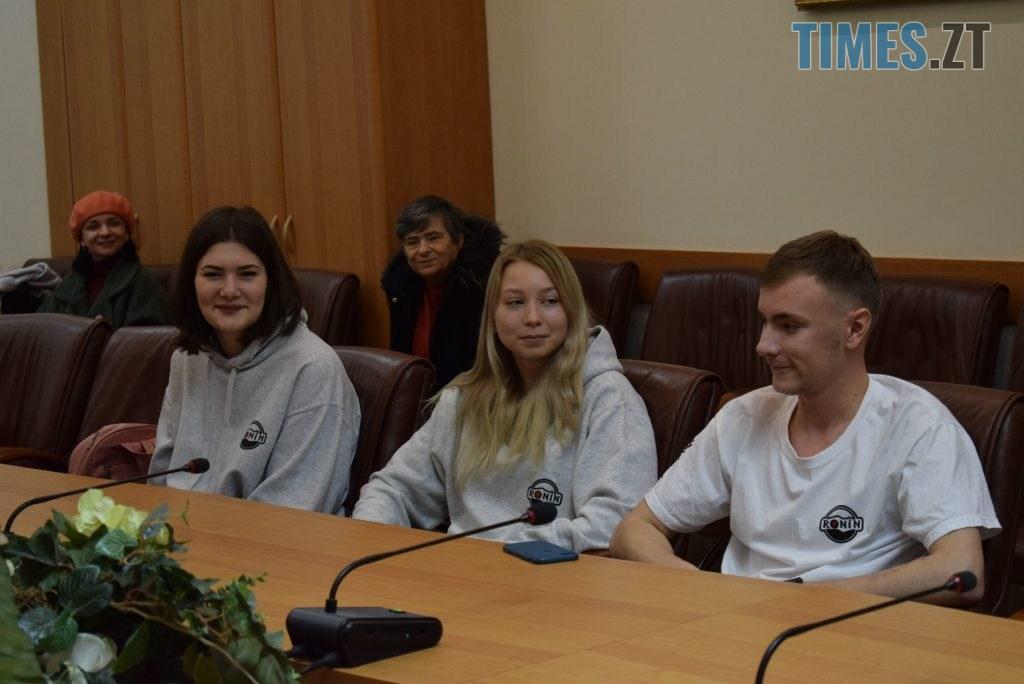 DSC 0274 1024x684 - У Житомирі вітали юних переможців Чемпіонату Європи та світу з карате (ФОТО)