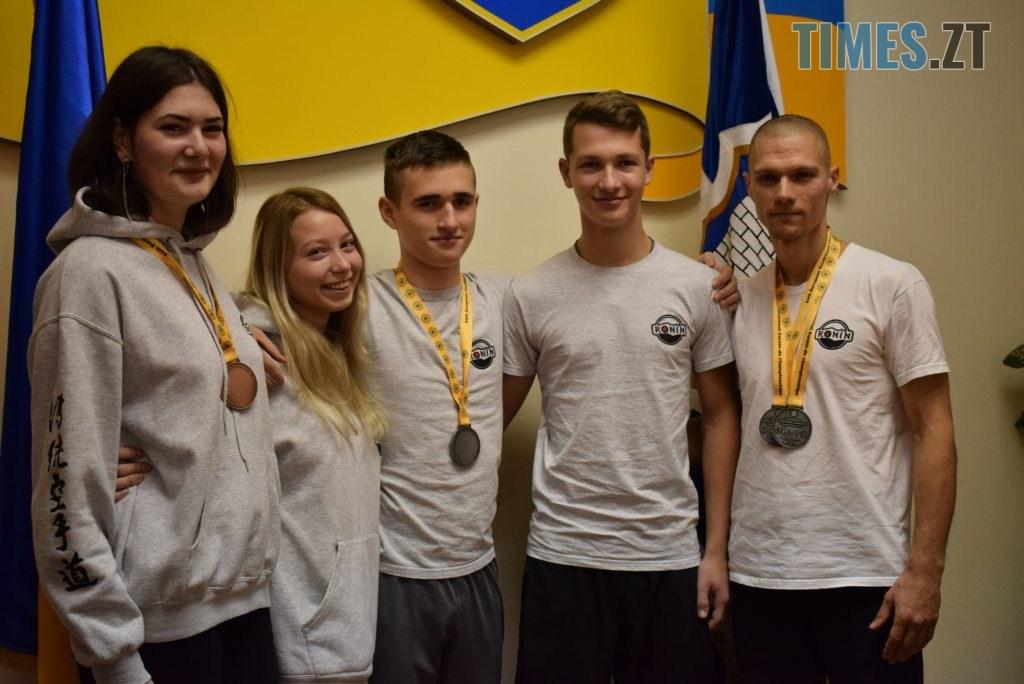 DSC 0345 1 1024x684 - У Житомирі вітали юних переможців Чемпіонату Європи та світу з карате (ФОТО)
