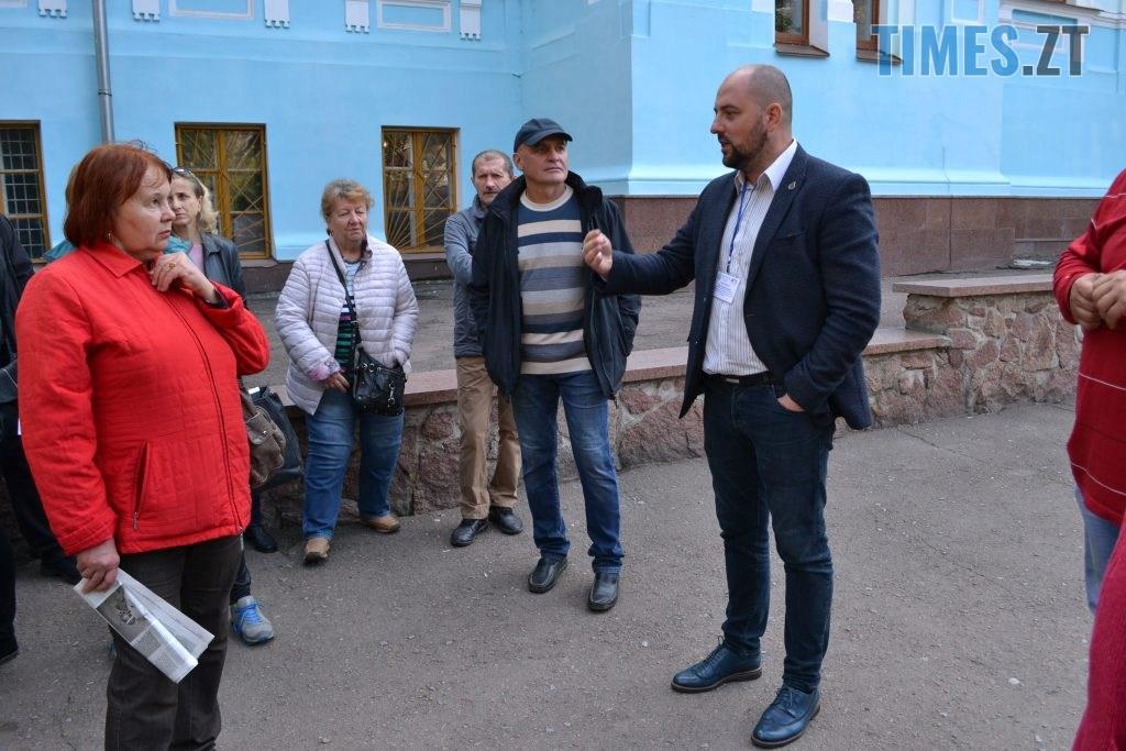 DSC 0453 1024x683 - Житомиряни влаштували акцію протесту проти будівництва АЗС під час міжнародного Форуму України та Білорусі (ФОТО)