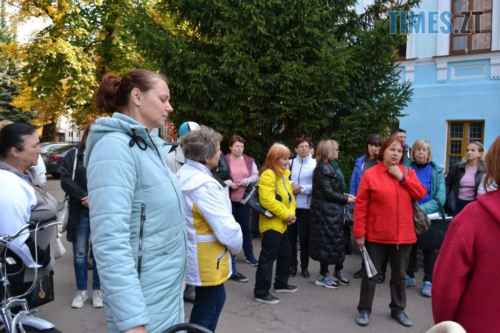 DSC 0454 1024x683 - Житомиряни влаштували акцію протесту проти будівництва АЗС під час міжнародного Форуму України та Білорусі (ФОТО)