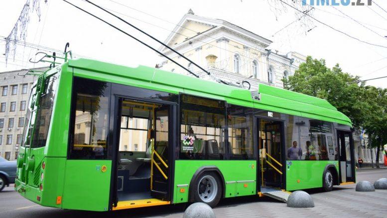 DSC 1032 1 1024x684 2 777x437 - У Житомирі не можуть випустити на маршрут 10 нових тролейбусів, бо не вистачає одного