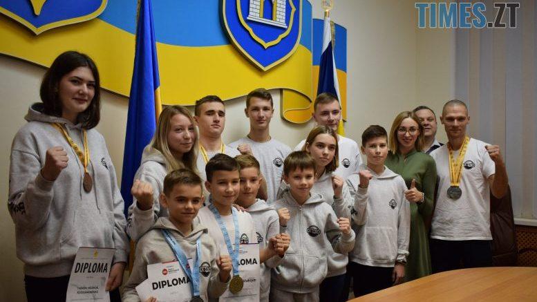 cropped DSC 0333 e1574091865798 - У Житомирі вітали юних переможців Чемпіонату Європи та світу з карате (ФОТО)
