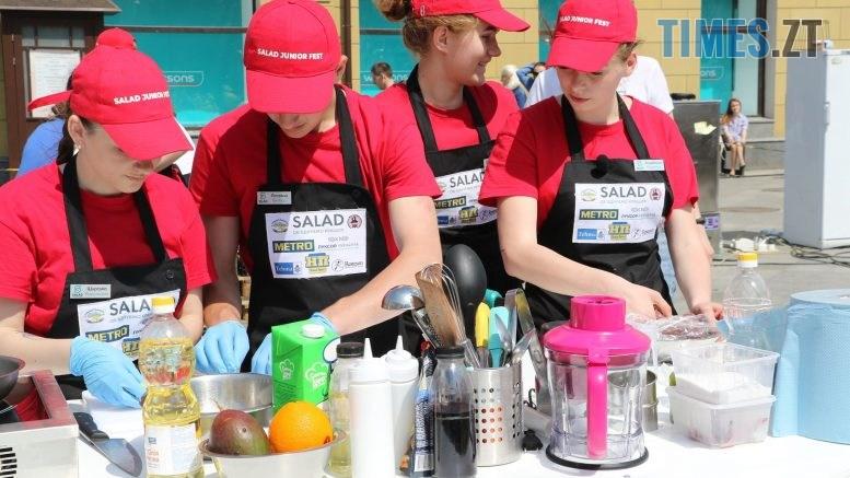 img1558176453 4 777x437 - «SALAD JUNIOR FEST» — в Житомирі на Михайлівській змагаються юні кухарі (ФОТО)