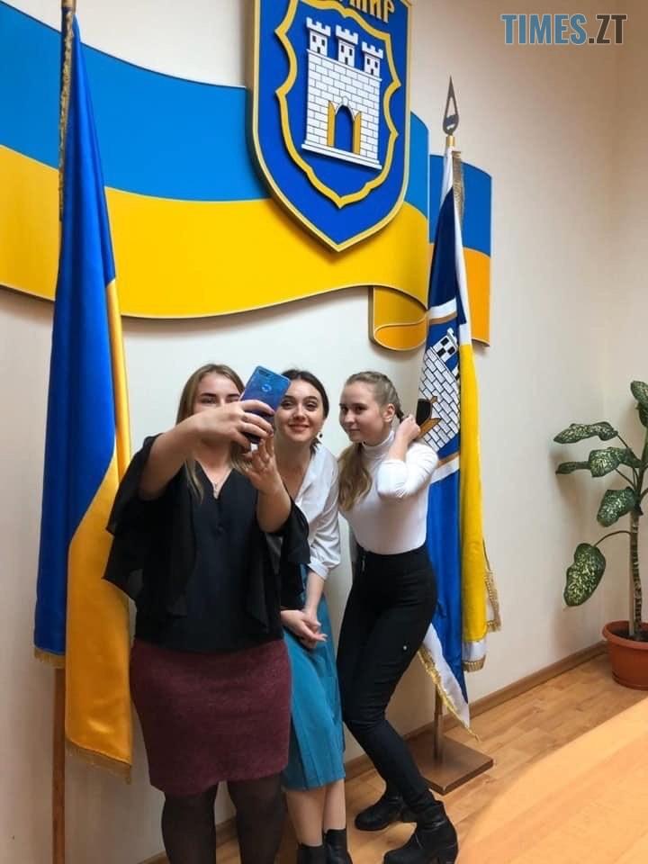 img1574158340 - Прессекретарка президента Юлія Мендель приїхала до житомирських підлітків