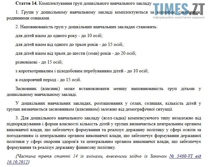 Дитсадочки Житомира. Комплектування групп дошкільних закладів | TIMES.ZT