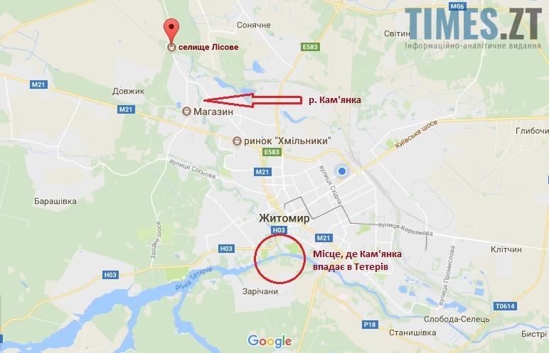 Річки біля Житомира | TIMES.ZT