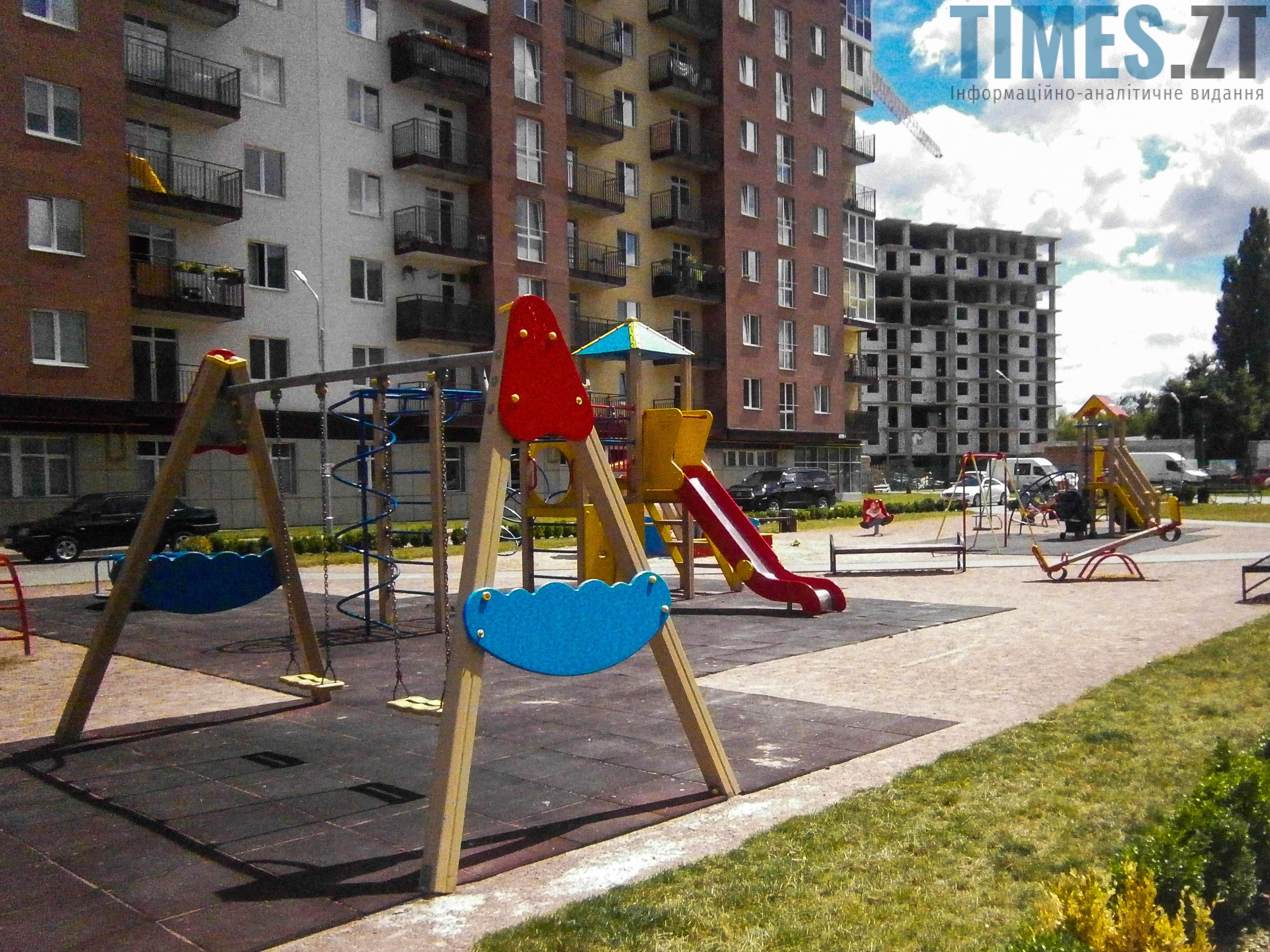 P7161619 - (Благо)устрій  житомирських дитячих майданчиків