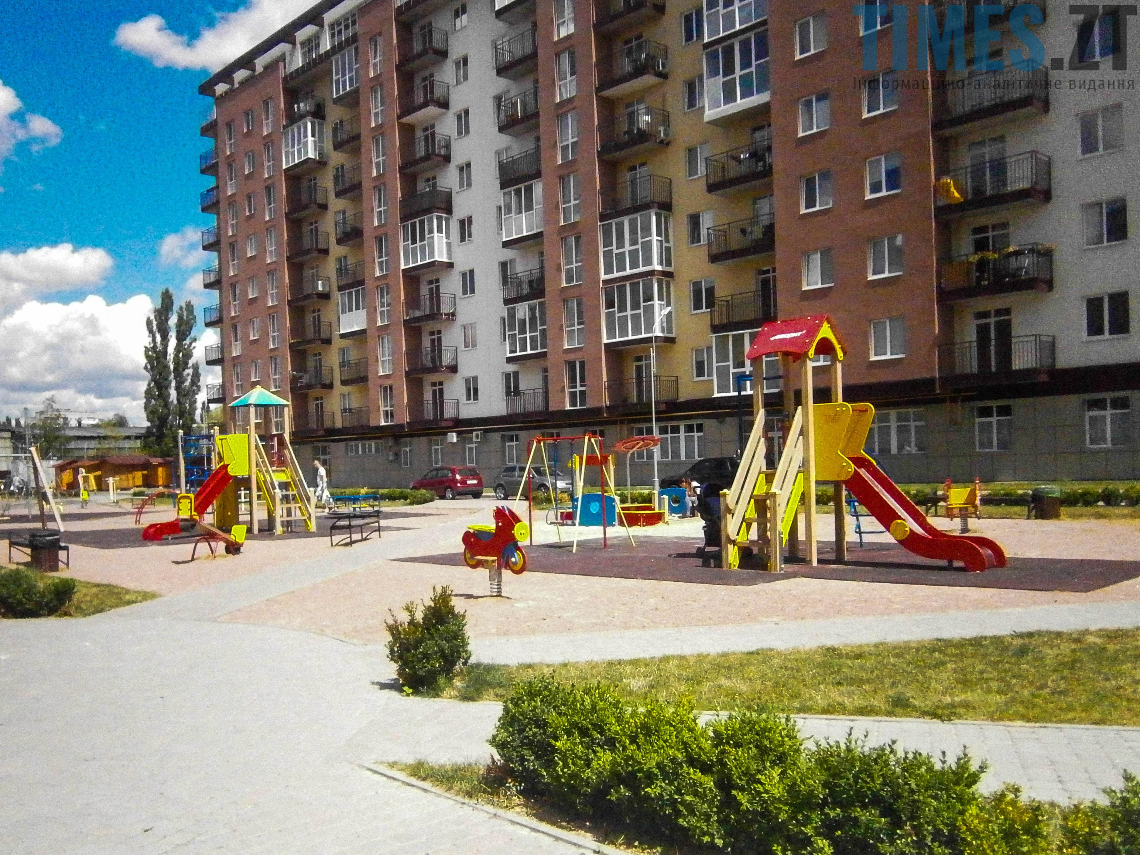 P7161622 - (Благо)устрій  житомирських дитячих майданчиків