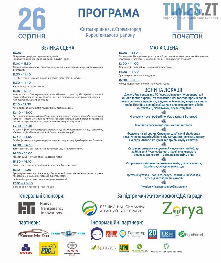 интернет1 863x1024 - Третій Фестиваль льону у Житомирській області