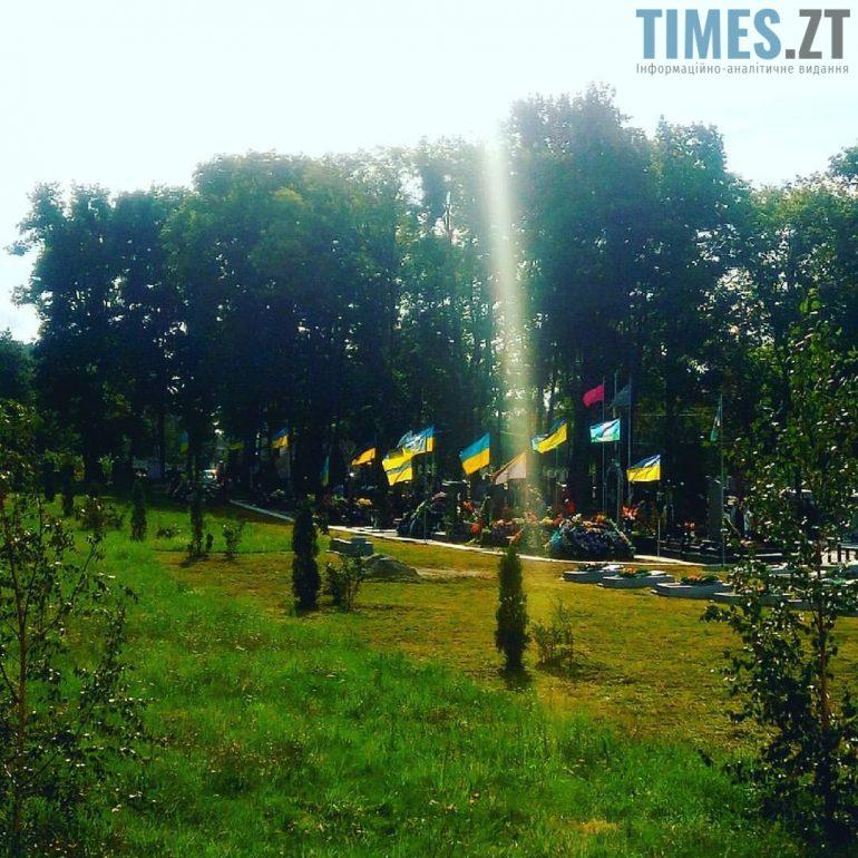 Житомир, військове кладовище  | TIMES.ZT
