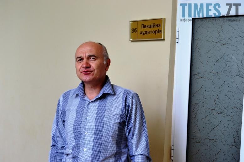 Валерій Башманівський, доцент ЖДУ