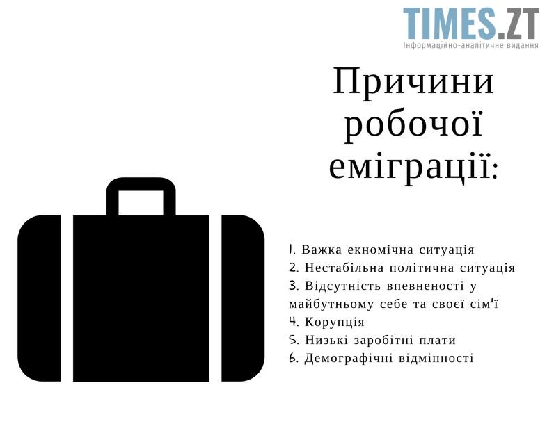 2 - Трудова еміграція: тенденції, причини та наслідки
