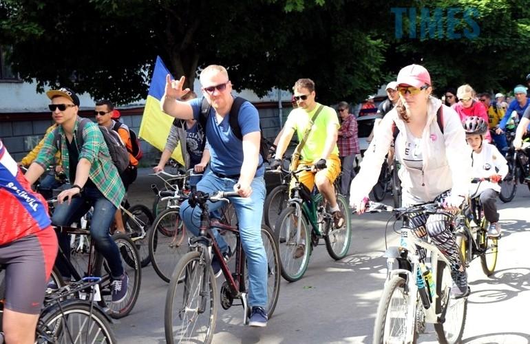 Учасники акції «Велодень 2017  | TIMES.ZT