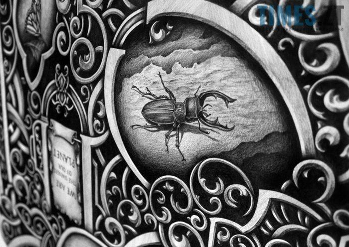Робота Дмитра Краба - графіті  | TIMES.ZT