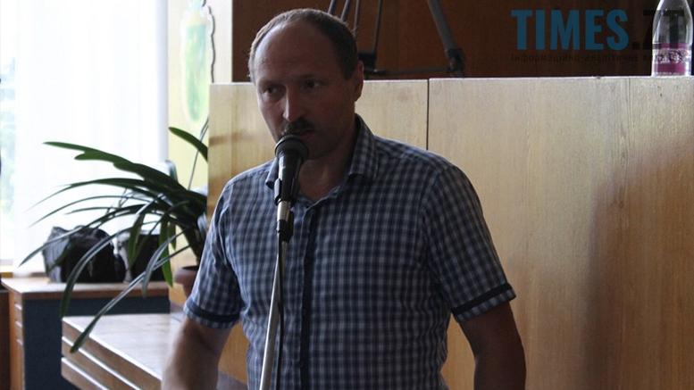 Депутат обласної ради Ігор Романський | TIMES.ZT