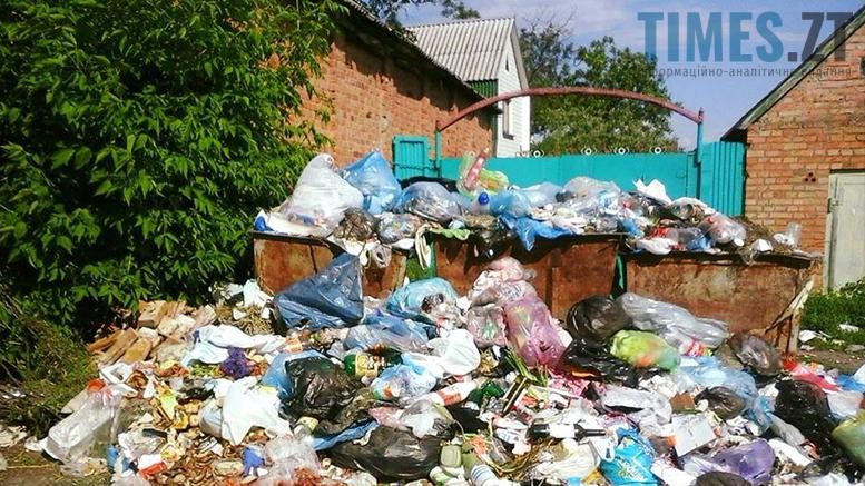 Стихійне сміттєзвалище. Бердичів | TIMES.ZT