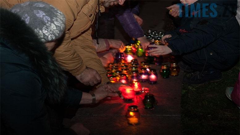 День Гідності та Свободи на майдані Житомира: віче