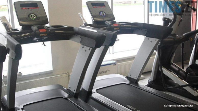 Житомир. Тренажерна зала Favoryt Gym - бігові доріжки | TIMES.ZT