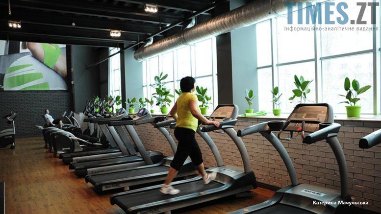 Житомир. Тренажерна зала Lime Fitness - бігові доріжки | TIMES.ZT