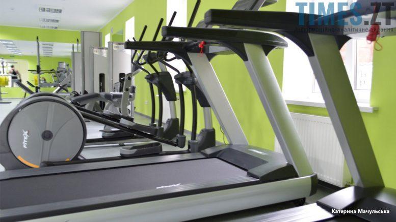 Житомир. Тренажерна зала Sport GO - бігові доріжки | TIMES.ZT