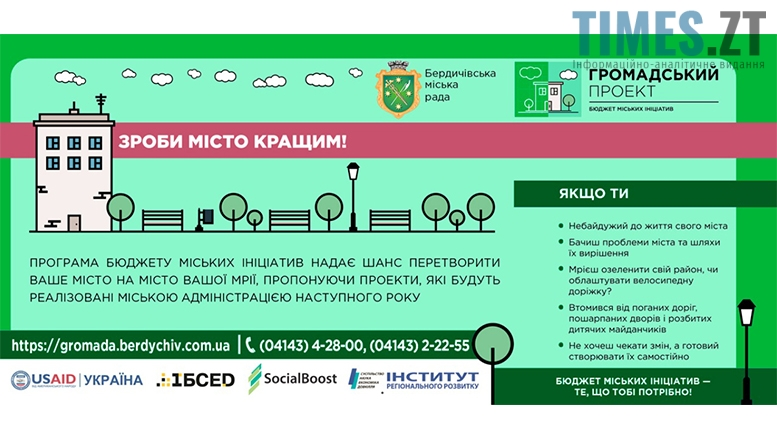 Picture 45 1 - Бюджет участі в Бердичеві: шанс на зміни чи грандіозна афера?