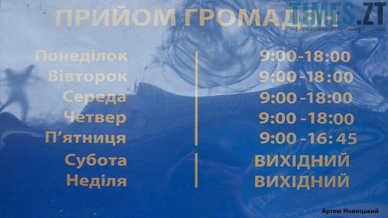 Відділи міграційної служби у Житомирі