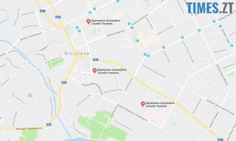 ДМС у Житомирі. Карта | TIMES.ZT