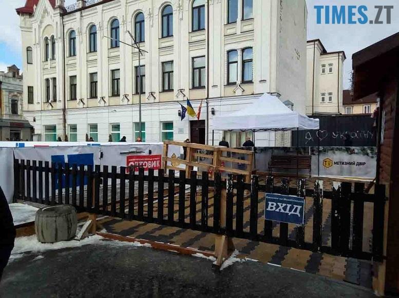 1 edited - Трансформери «вилизують» Михайлівську перед візитом першої леді